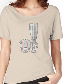 Bat-tered Women's Relaxed Fit T-Shirt