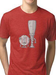 Bat-tered Tri-blend T-Shirt