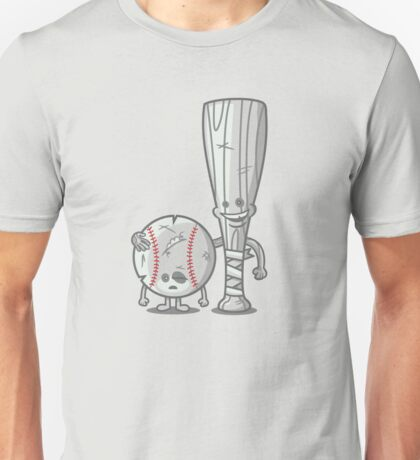 Bat-tered Unisex T-Shirt