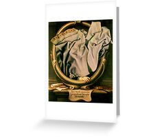 Vanity. Greeting Card