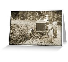 Tractor Tracy Greeting Card