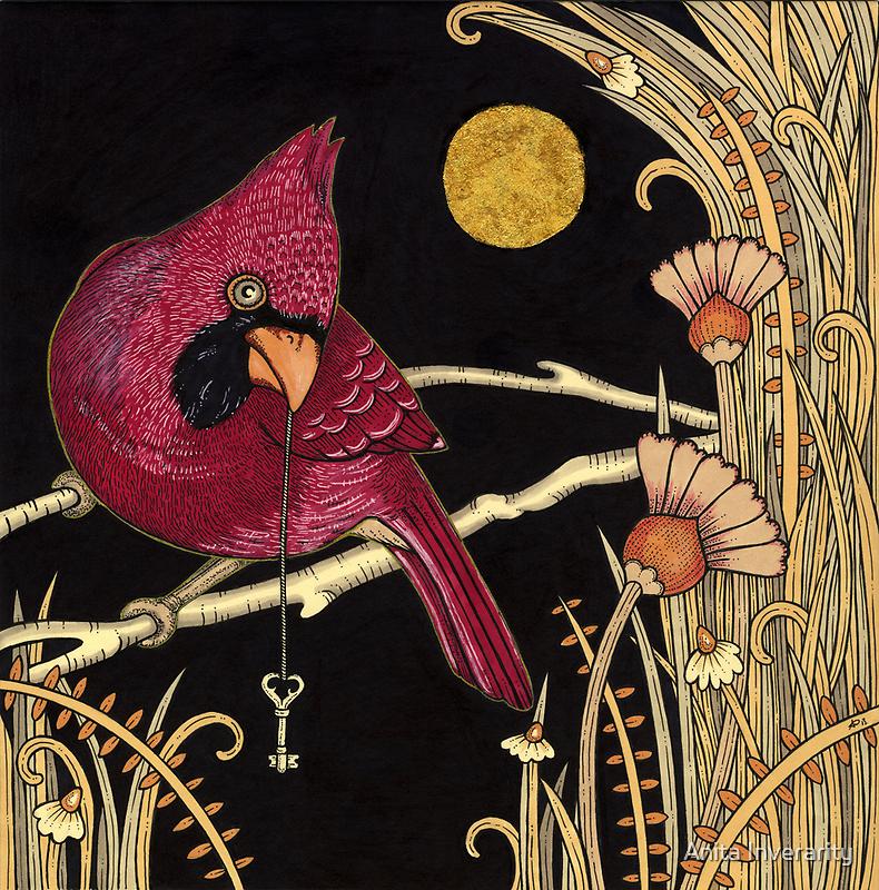 Cardinal by Anita Inverarity