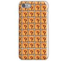 Mario Blocks iPhone Case/Skin