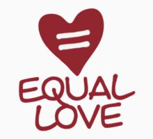 Equal Love by hazzaclothing