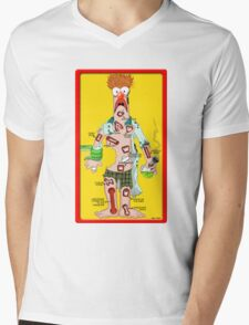 Beaker Operation Mens V-Neck T-Shirt