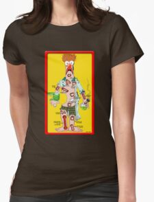 Beaker Operation Womens Fitted T-Shirt