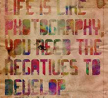 Life is Like Photography by ZantheClothing