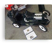 Austin 5 Forty Pedal Car Canvas Print