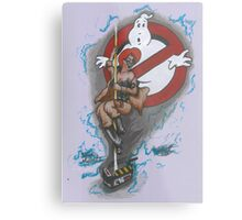 Ghost Belle Metal Print