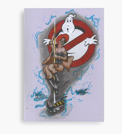 Ghost Belle Canvas Print