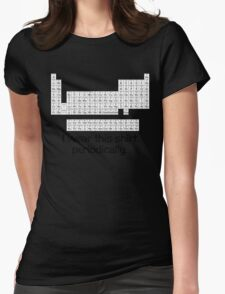 I wear this shirt periodically Womens Fitted T-Shirt