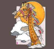 How's the weather up there? - tall giraffe shirt Unisex T-Shirt