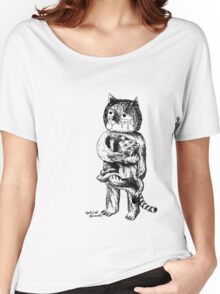 fat cat records Women's Relaxed Fit T-Shirt