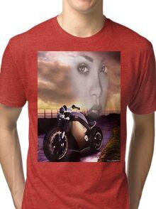 Ride For Life (ThugLife) Rihanna Tri-blend T-Shirt