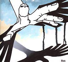 grabbing the sky by AnnaAsche