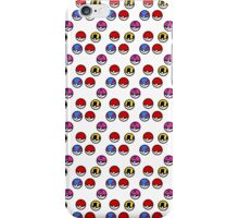 Pokeball Parade iPhone Case/Skin