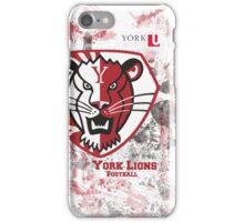 York U Football iPhone Case iPhone Case/Skin