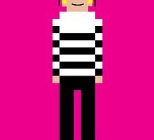 8-Bit Gaultier by 8biticons