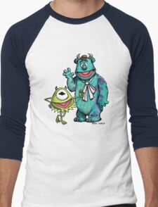 Muppets Inc. Men's Baseball ¾ T-Shirt