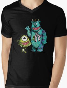 Muppets Inc. Mens V-Neck T-Shirt