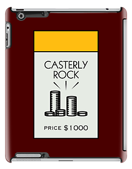 Casterly Rock Monopoly Location ( Game of Thrones ) by huckblade