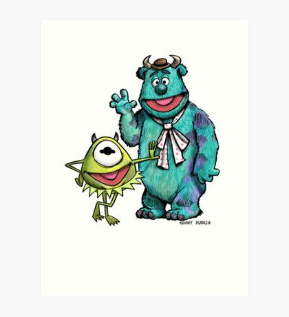 Muppets Inc. Art Print