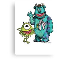 Muppets Inc. Canvas Print