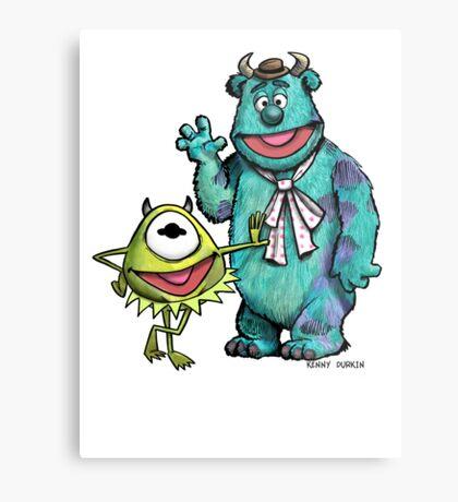 Muppets Inc. Metal Print