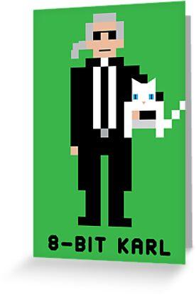 8-Bit Karl by 8biticons