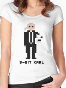 8-Bit Karl Women's Fitted Scoop T-Shirt