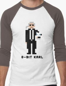 8-Bit Karl Men's Baseball ¾ T-Shirt