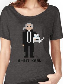 8-Bit Karl Women's Relaxed Fit T-Shirt