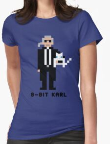 8-Bit Karl Womens Fitted T-Shirt