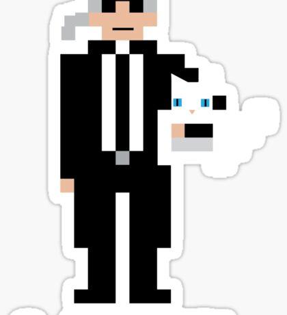 8-Bit Karl Sticker