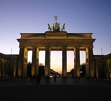 Brandenburg Gate by christina chan