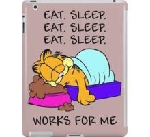 Garfield Eat Sleep iPad Case/Skin