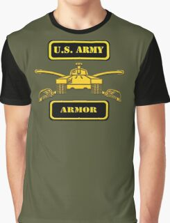 Army Armor T-Shirt Graphic T-Shirt