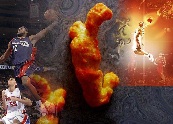Cheeto Lebron by Cheeto Freak