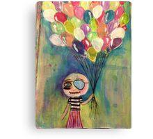 Balloon Pirate Canvas Print