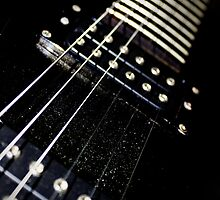 Electric Ibanez Guitar Neck by Jamie Cameron