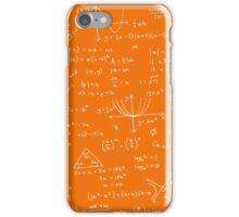 Algebra Math Sheet 3 iPhone Case/Skin
