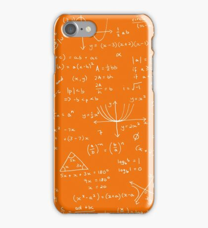Algebra Math Sheet 3 iPhone Case/Skin