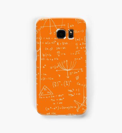 Algebra Math Sheet 3 Samsung Galaxy Case/Skin