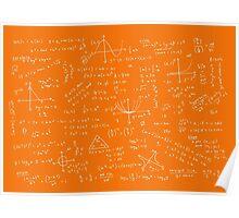 Algebra Math Sheet 3 Poster