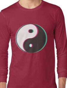 Trippy Yin Yang Long Sleeve T-Shirt