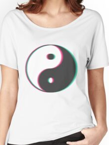 Trippy Yin Yang Women's Relaxed Fit T-Shirt