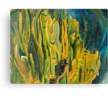Abstract Contemporary Art - Before Nirvana Canvas Print