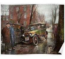 Car Accident - Watch for ice 1921 Poster