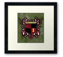Hellsing Coat of arms Framed Print