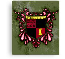 Hellsing Coat of arms Canvas Print